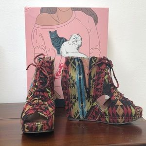 Jeffrey Campbell Mary-Roks Wedges